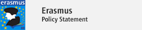 This opens a new window Erasmus Policy Statement